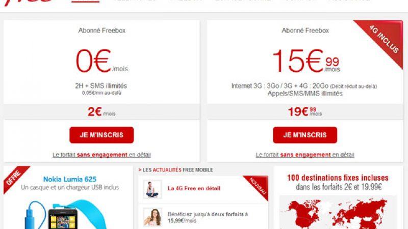 4G : relooking du site Free Mobile et annonce de certaines villes couvertes