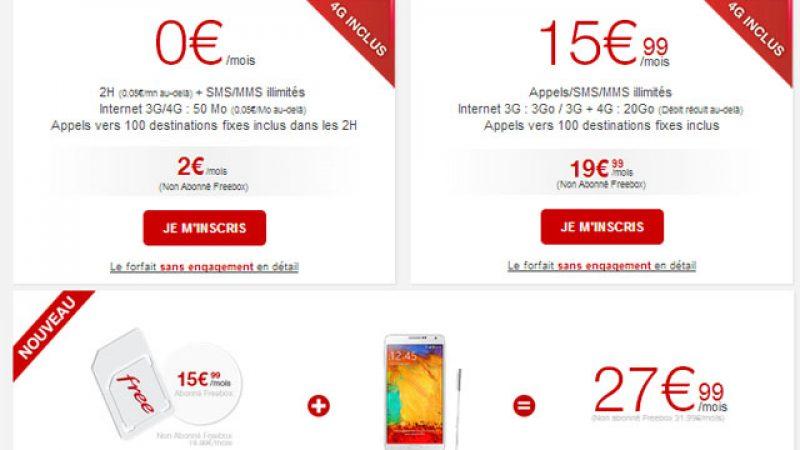 Nouvelle évolution du site de Free Mobile suite à l'arrivée de la location de Smartphones