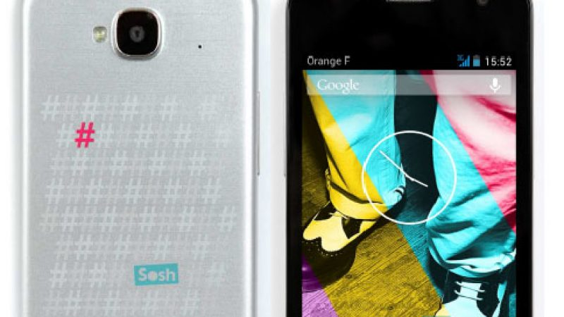 Sosh annonce le lancement d'un Smartphone à son nom et à bas prix