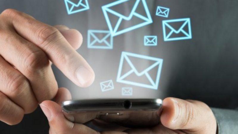 Mobile : pour la première fois le nombre de SMS envoyés en France accuse un net recul