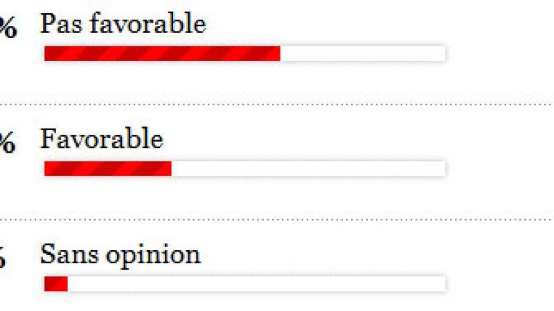 Sondage: les français majoritairement opposés à l'Hadopi