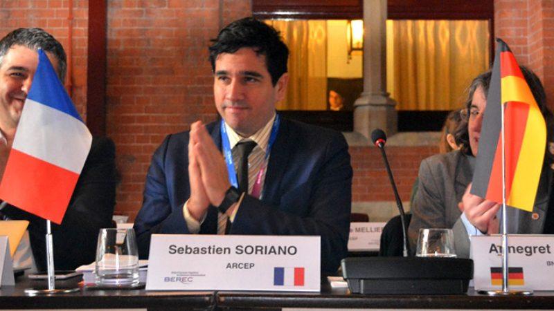"""Sébastien Soriano est élu à la présidence de """"l'ARCEP"""" européen"""