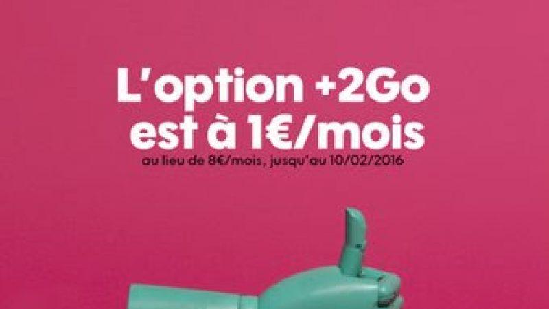 Sosh prolonge son offre pour bénéficier de 2Go supplémentaires à 1 euro