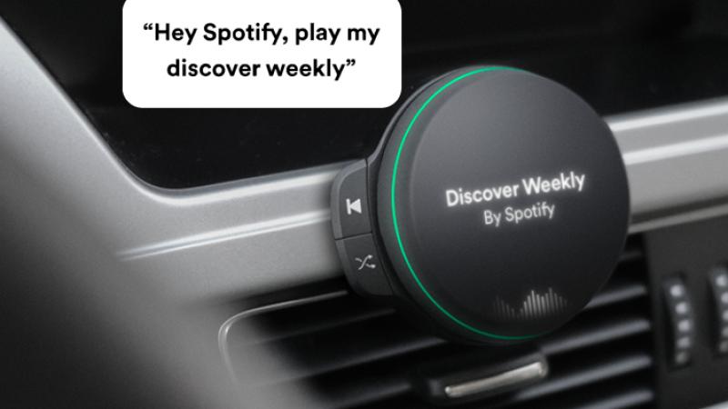 Spotify pourrait lancer un accessoire se substituant aux autoradio