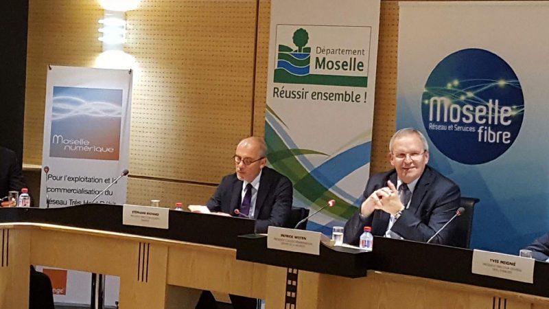 Le Département de la Moselle confie à Orange l'exploitation et la commercialisation du réseau public départemental en FTTH