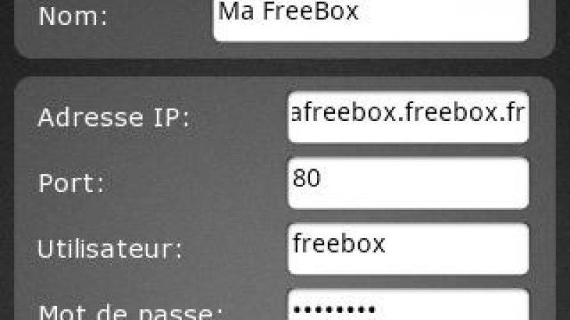 Freebox Révolution : Application Android pour gérer la SeedBox