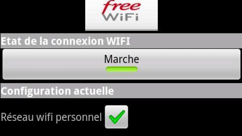 Avec Freebox Wifi pour Android, désactivez votre wifi d'un simple click