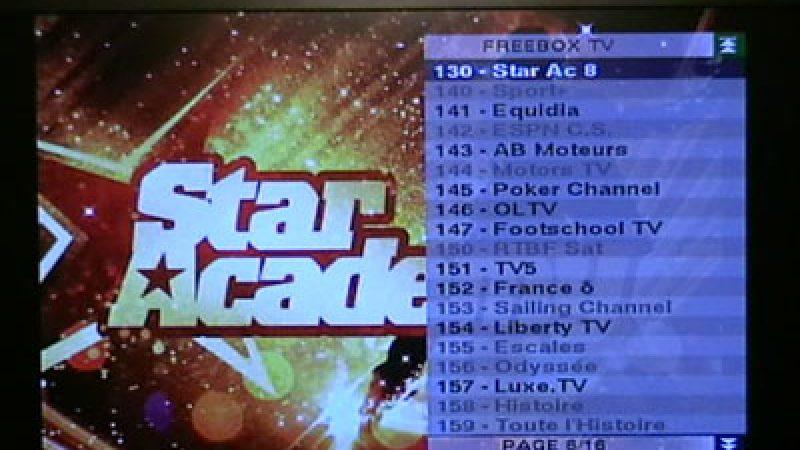 StarAc 8 sur Freebox TV, c'est parti !