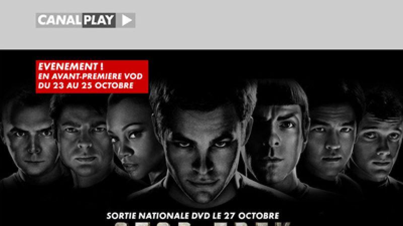 Star Trek disponible sur Canalplay avant la sortie DVD