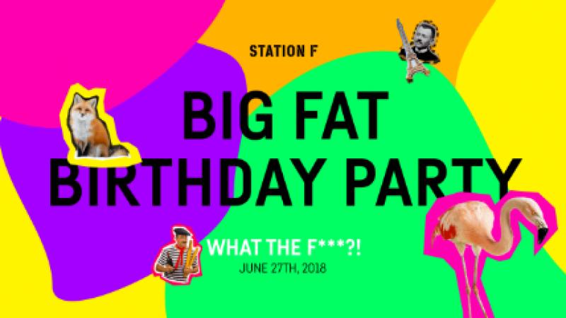 Station F va ouvrir ses portes au public à l'occasion de son premier anniversaire