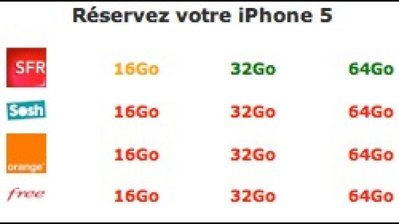 Free n'est pas le seul opérateur à subir la pénurie d'iPhone 5