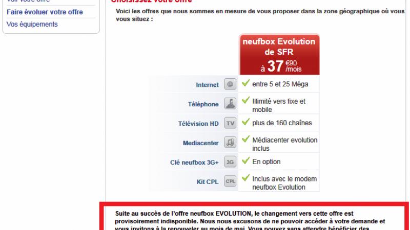 Migration de box : Après Free, ca coince également chez SFR