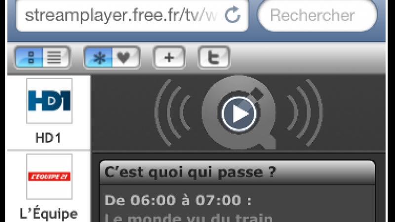 Regardez plusieurs chaînes de Freebox TV sur votre smartphone ou votre tablette