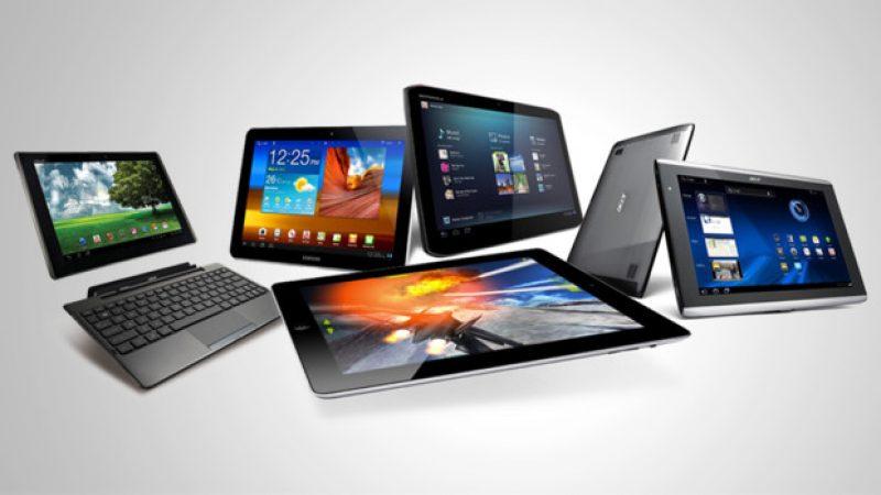 La vente de tablettes continue sa dégringolade sauf pour Huawei