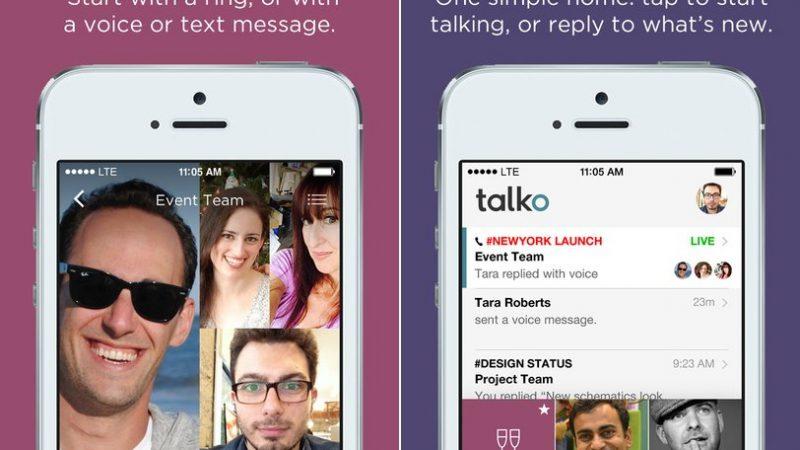 Microsoft acquiert le service de messagerie Talko afin de l'intégrer à Skype