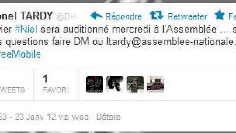 Audition de Xavier Niel : Lionel Tardy propose de relayer les questions des internautes