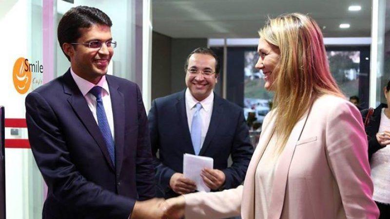 Angélique Gérard et le Ministre marocain de l'industrie inaugurent les nouveaux locaux d'un des centres d'appels de Free :  Total Call (photos)