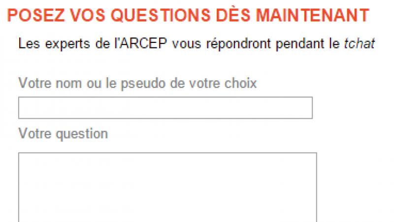 L'ARCEP organise un tchat sur la qualité de service de l'internet fixe ce jeudi