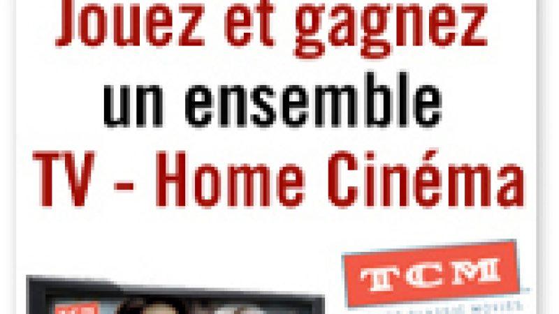 TCM : Jouez et gagnez un ensemble TV-Home Cinéma