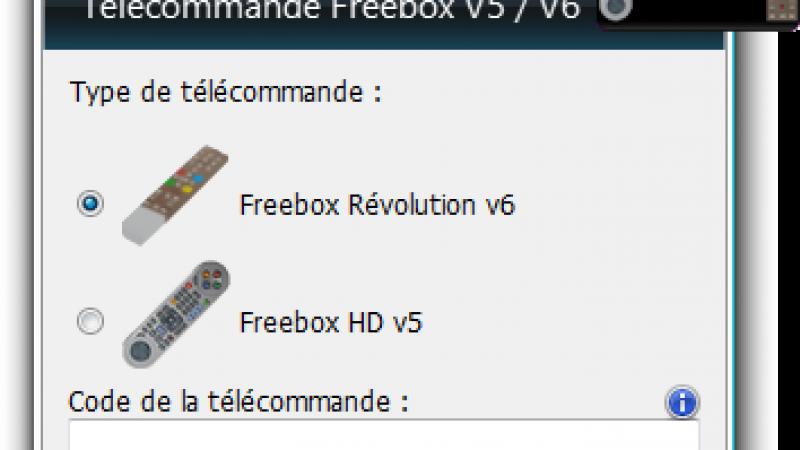 Gadget Windows : Une télécommande virtuelle pour la Freebox Révolution