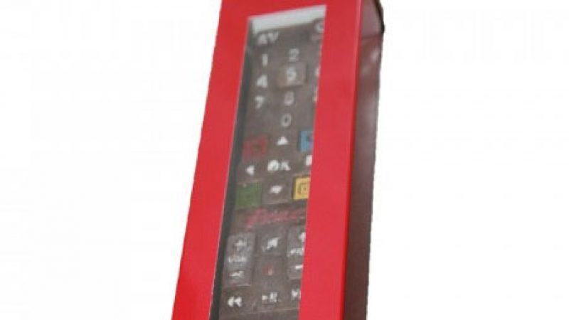La télécommande Freebox Révolution en chocolat disponible à la vente