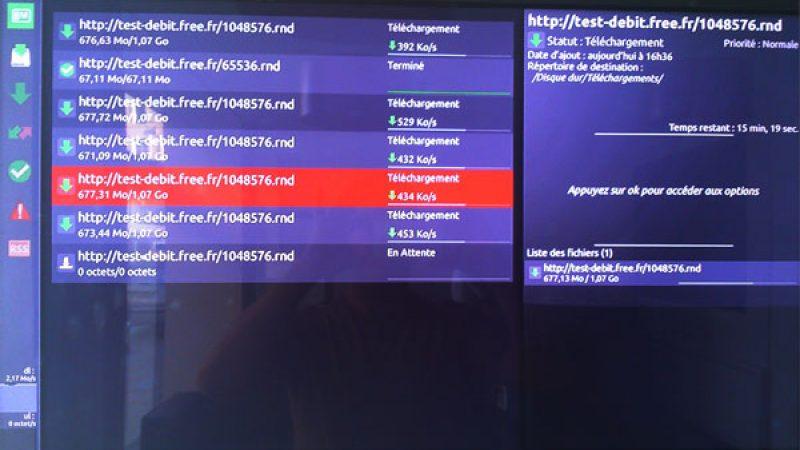 Découvrez la nouvelle interface de téléchargements du Freebox Player