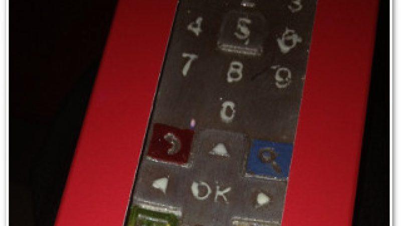 Clin d'oeil : Une télécommande Freebox Révolution en chocolat !