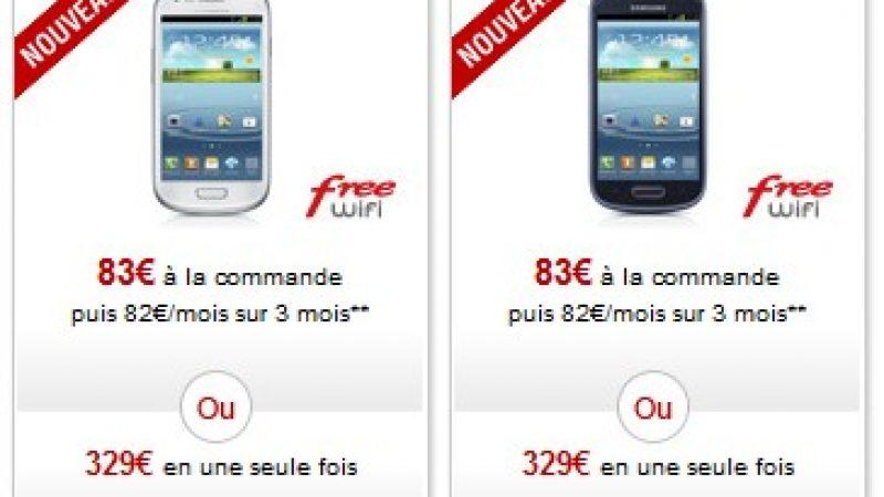 Free Boutique : Le LG Optimus L9 et Samsung Galaxy SIII Mini disponible