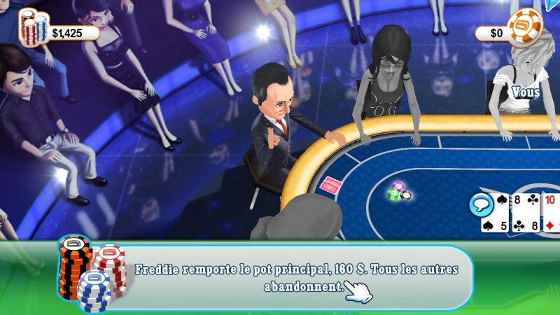 Freebox Révolution : Et le deuxième jeu mystère Gameloft est Texas Hold'em Poker
