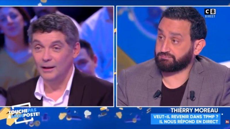TPMP : Thierry Moreau n'est pas contre un retour en principe