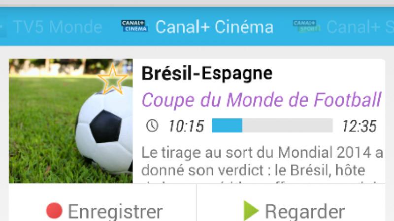 Tivipédia l'application de télécommande Freebox est prête pour  la coupe du monde