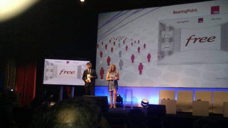 1er prix du podium de la relation client à Free Mobile : Photos et précisions