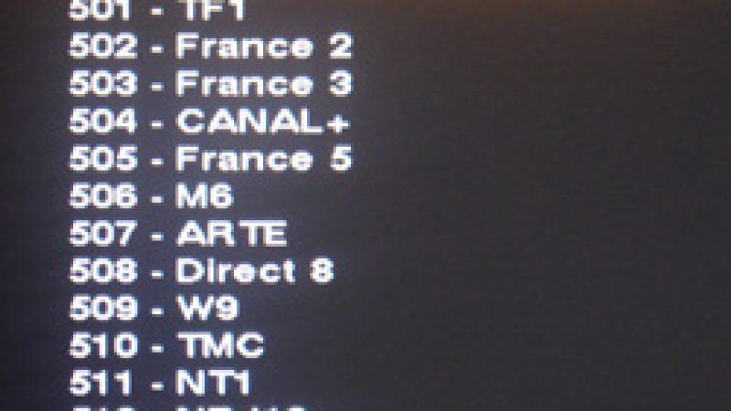 [Màj 2] Canal TNT HD accessible…