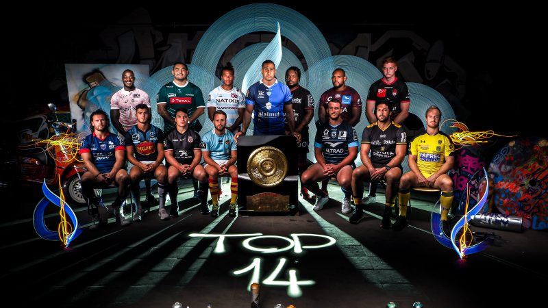 Retransmission en direct d'un match du Top 14 sur C8