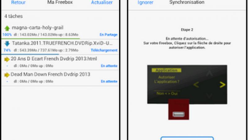 Freebox Torrent : la mise à jour de l'application Android permet de désactiver les rapports d'erreurs