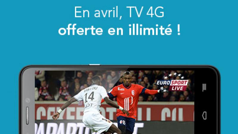 """Bouygues Télécom offre la TV en avril pour """"profiter pleinement de la 4G"""""""