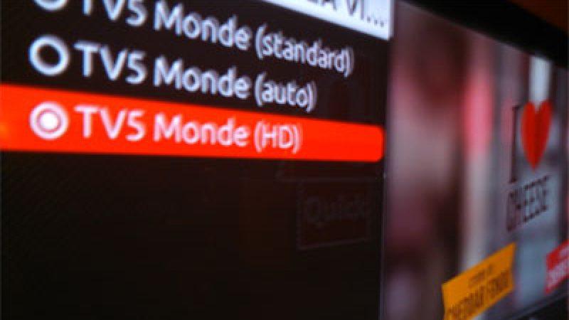 Freebox TV : TV5 Monde passe en Haute Définition
