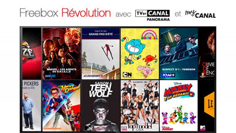 Freebox Révolution à 4,99€/mois : comment se passe l'accès à TV by Canal