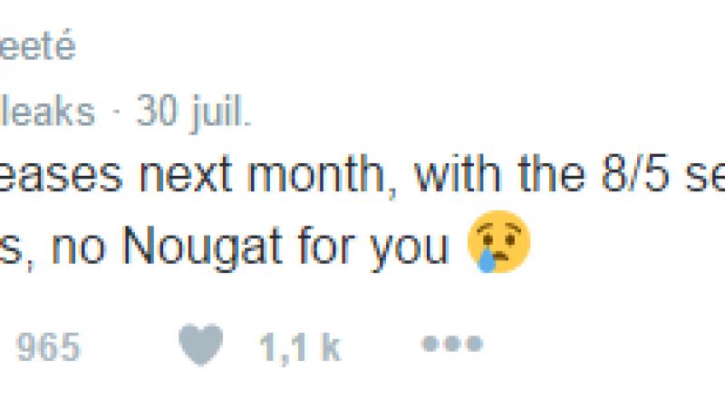 Android Nougat devrait faire son apparition dès la fin de la semaine