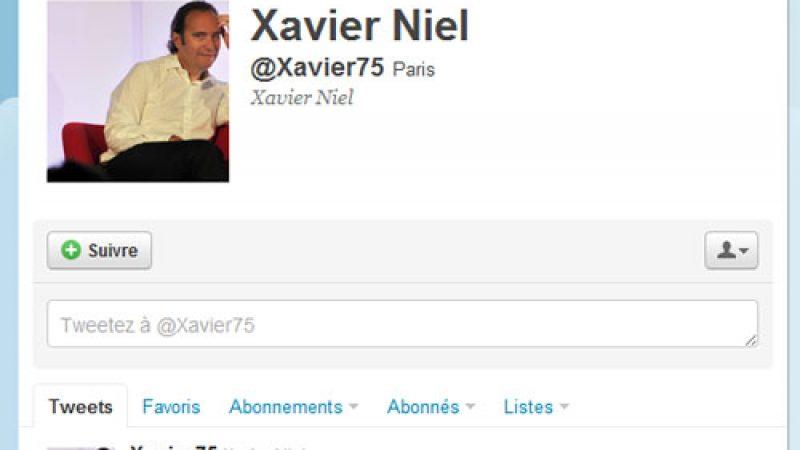 Xavier Niel publie un nouveau tweet