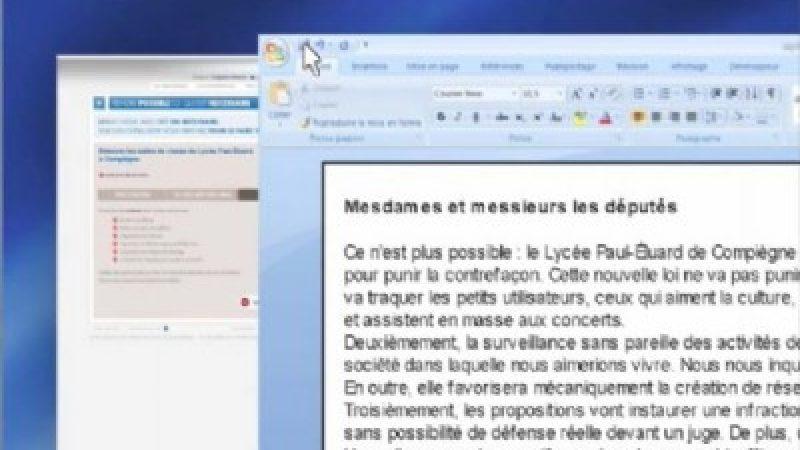 L'UMP encourage les initiatives comme… une pétition anti-Hadopi !