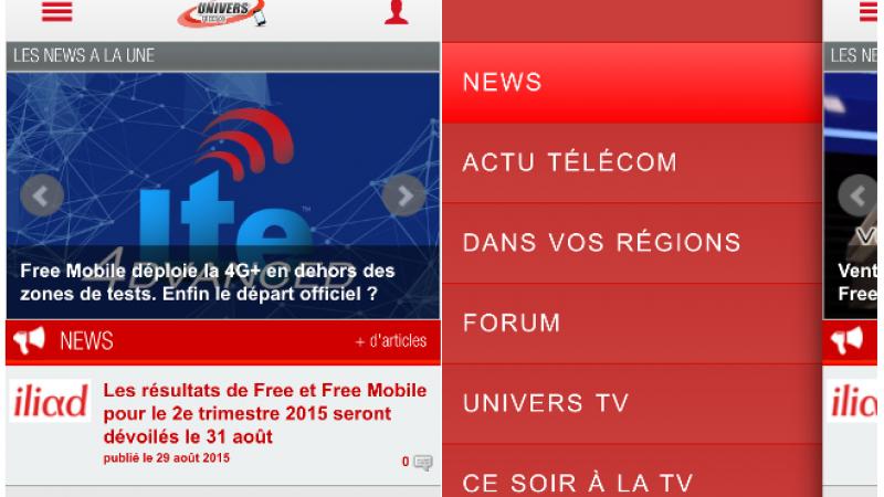 L'application iOS d'Univers Freebox s'offre une mise à jour