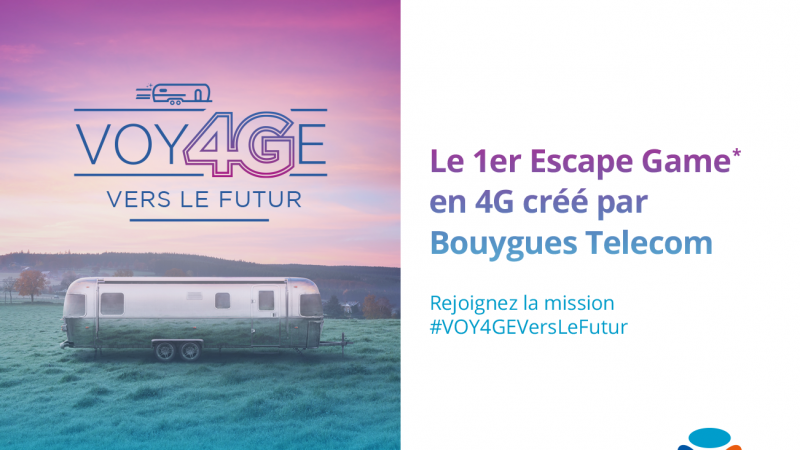 Bouygues Telecom fait tester son réseau et lance le premier escape game en 4G à travers la France
