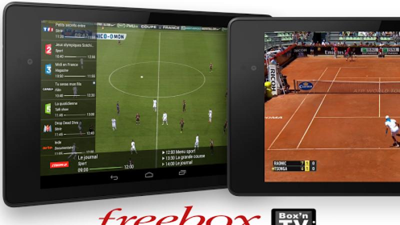 regarder la tv free sur tablette