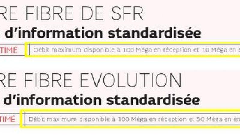 SFR baisse fortement le débit montant de son offre fibre