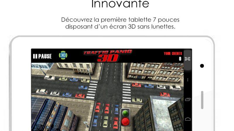 Le français EVI lance la 1ère phablette au monde avec écran 3D sans lunettes