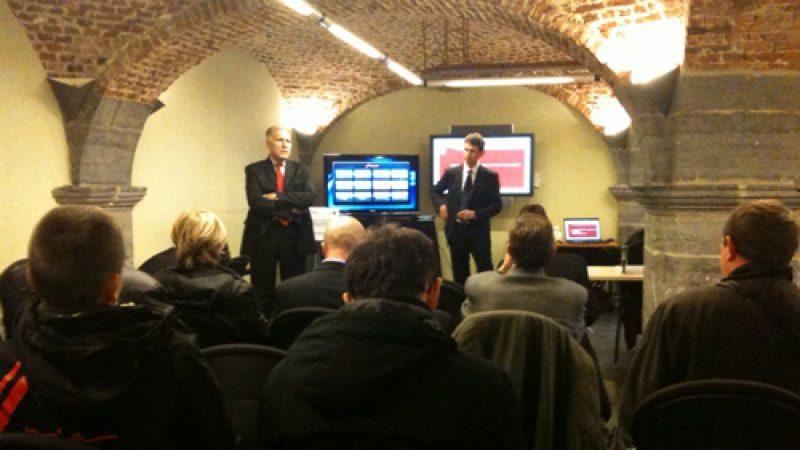 L'inauguration du NRO et de l'offre fibre de Free à Valenciennes en images