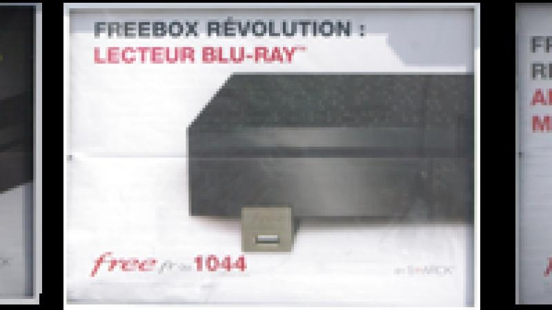 Free promeut les services de sa Freebox Révolution