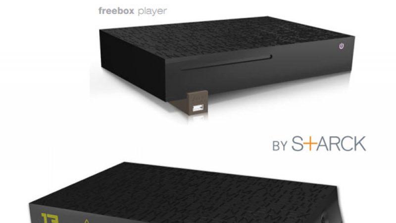Freebox V6 ADSL: FTTH/ADSL, 4 ports Gigabit Ethernet,  Wifi 450 Mbits/s, base DECT, radio réveil…