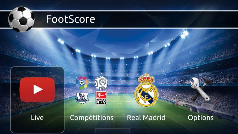 Test : Footscore, la nouvelle application pour les fans de football disponible sur le Freestore